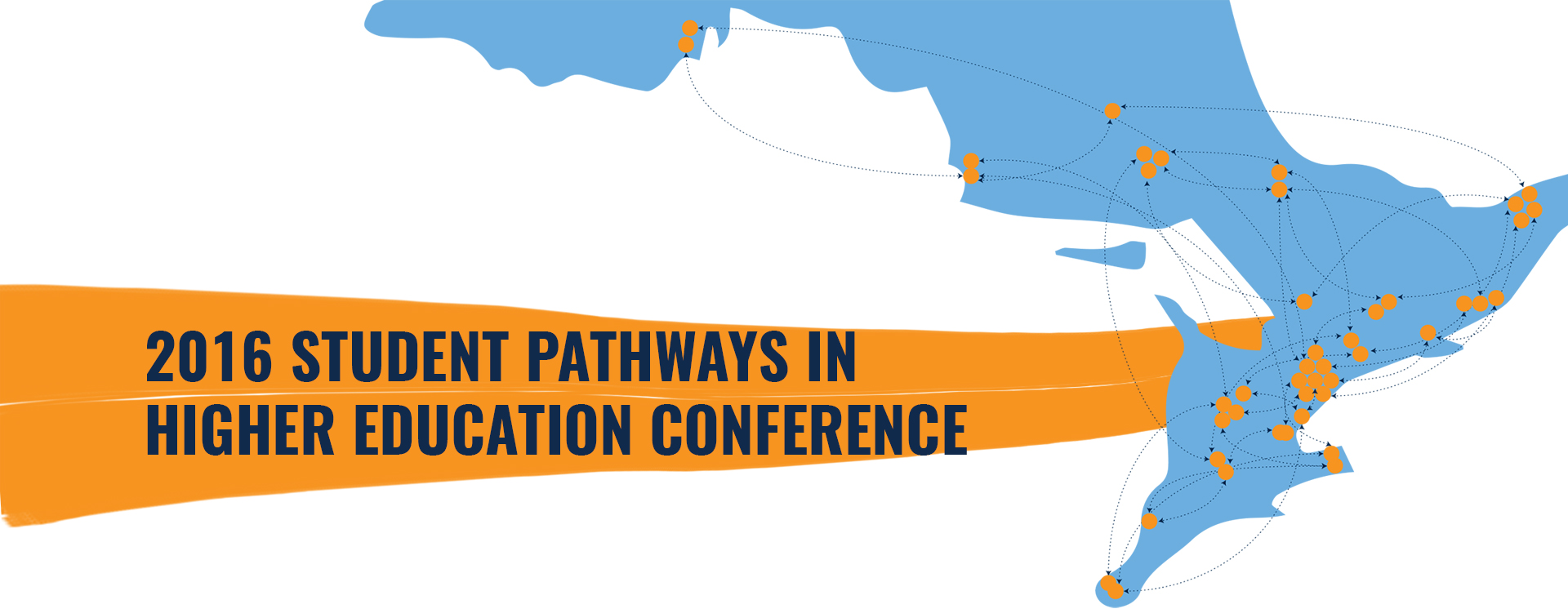 2016 Student Pathways in Higher Education Conference Banner